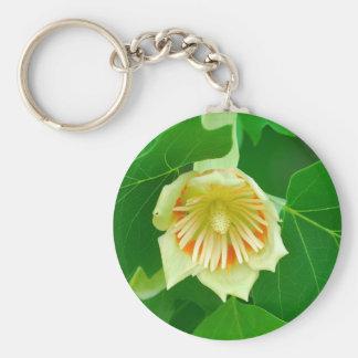 Poplar Tree Tulip keychain