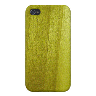Poplar Wood Grain iPhone 4 Cases