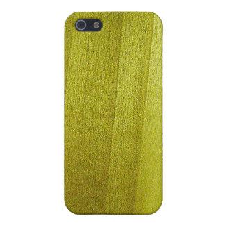 Poplar Wood Grain iPhone SE/5/5s Case