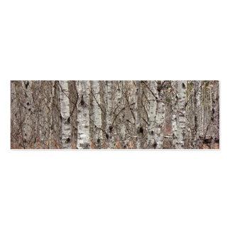 Poplar Woodlot Mini Business Card
