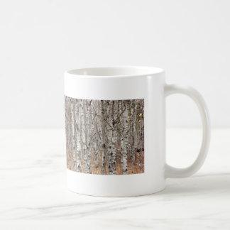 Poplar Woodlot Classic White Coffee Mug