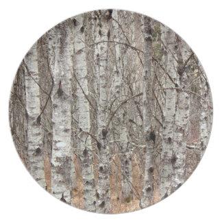 Poplar Woodlot Plate