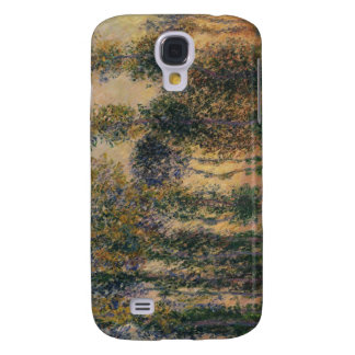 Poplars at Giverny (1888) Galaxy S4 Case