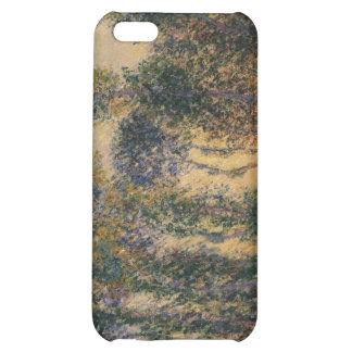 Poplars at Giverny (1888) iPhone 5C Cases