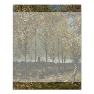 Poplars Near Nuenen by Vincent Van Gogh Flyer