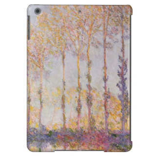 Poplars on the Banks of the Epte, 1891 iPad Air Covers