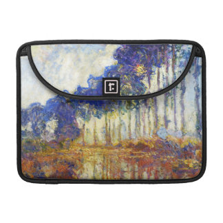 Poplars on the Banks of the River Epte Monet Sleeve For MacBook Pro
