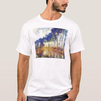 Poplars on the Banks of the River Epte Monet T-Shirt