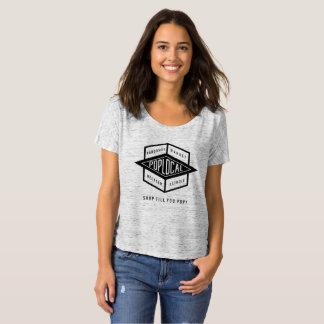 PopLocal gray T-Shirt