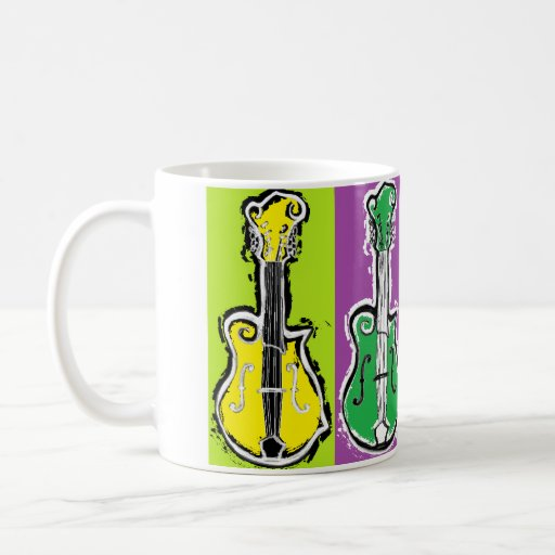 Pop Mandolin Coffee Mug