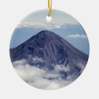 Popocatépetl volcano, Mexico Ceramic Ornament