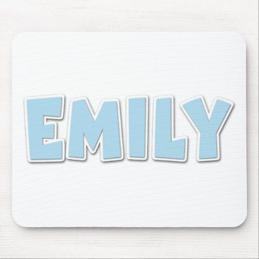 Popout del azul de Emily Alfombrilla De Raton