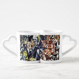 Popova's art couple's mugs