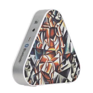 Popova's art custom bluetooth speaker