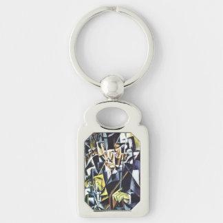 Popova's art key chain