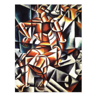 Popova's art postcard