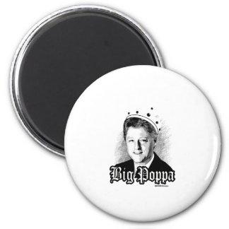 Poppa grande - Bill Clinton notorio Imán Redondo 5 Cm