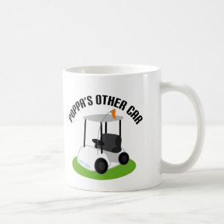 Poppas Other Car (Golf Cart) Coffee Mug