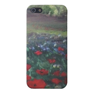 poppie field iPhone 5 case