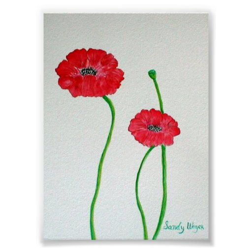 Poppies1 Póster