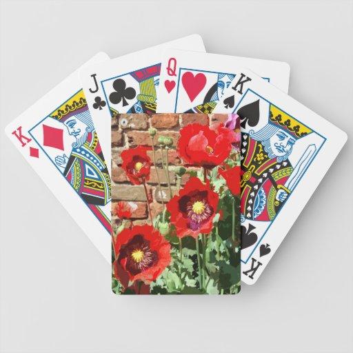 POPPIES 3 CARD DECKS