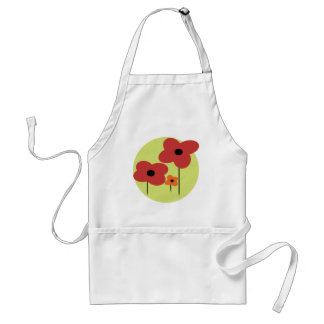 Poppies Adult Apron