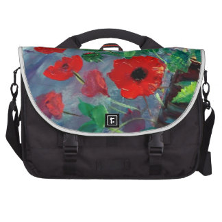 Poppies and a Clay Pot Laptop Bags
