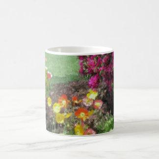 Poppies and Bougainvillea Coffee Mug