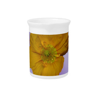 Poppies and their meaning drink pitcher