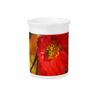 Poppies and their meaning drink pitchers