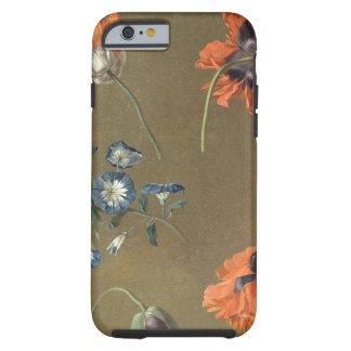 Poppies and Tradascanthus (oil on canvas) Tough iPhone 6 Case