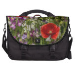 Poppies and Wild Flowers Commuter Bag