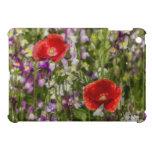 Poppies and Wild Flowers iPad Mini Cases