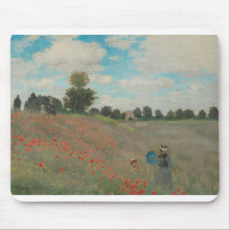 Poppies at Argenteuil (1873) Mouse Pad