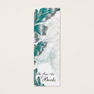 Poppies Bookmark #2 Mini Business Card