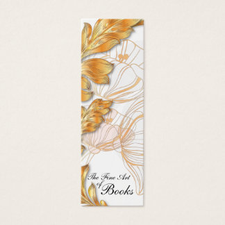Poppies Bookmark #3 Mini Business Card