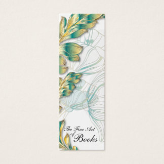 Poppies Bookmark #4 Mini Business Card