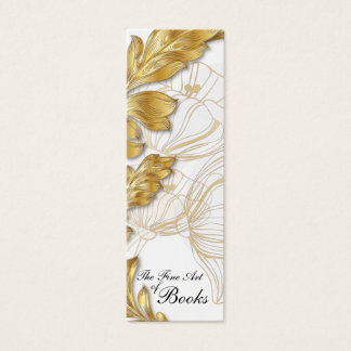 Poppies Bookmark #5 Mini Business Card