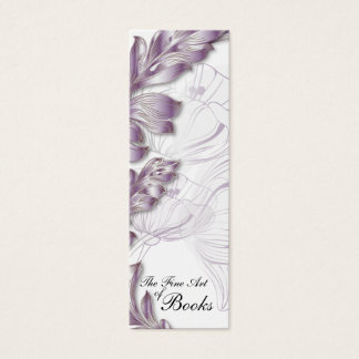 Poppies Bookmark #7 Mini Business Card