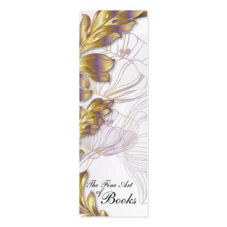 Poppies Bookmark #8 Mini Business Card