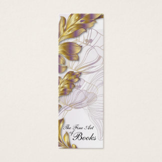 Poppies Bookmark #8 Mini Business Card