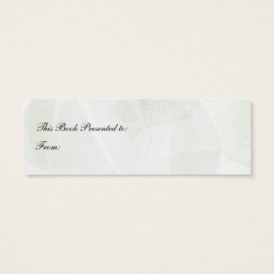 Poppies Bookmark #9 Mini Business Card
