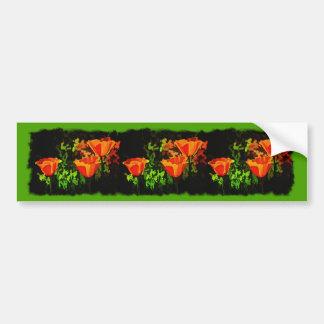 Poppies Bumper Sticker