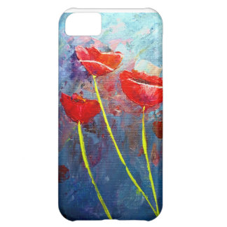 Poppies Case For iPhone 5C