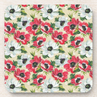 Poppies Beverage Coasters