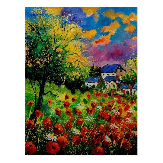 poppies daisies 560110 postcard