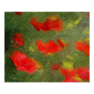 Poppies dance poster