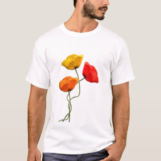 Poppies design T-Shirt