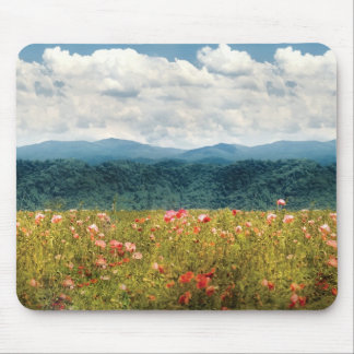 Poppies - Fragrant Valley Mouse Pad