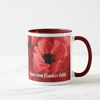 Poppies from Flanders fields Mug
